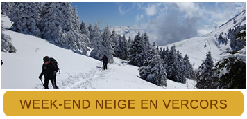 Week-end Neige en Vercors